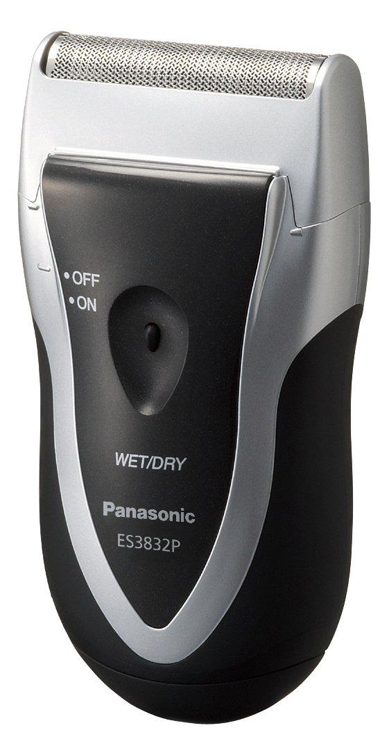 Panasonic Men's Shaver for Traveler ES3832P-S Silver | DC3V (2 x AA Alkaline) (Japan Model) by Panasonic