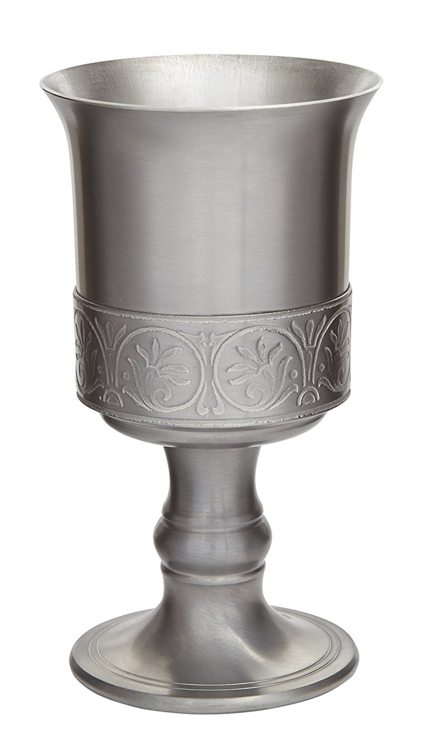 Wentworth Pewter Medieval Antique Finish Pewter Goblet