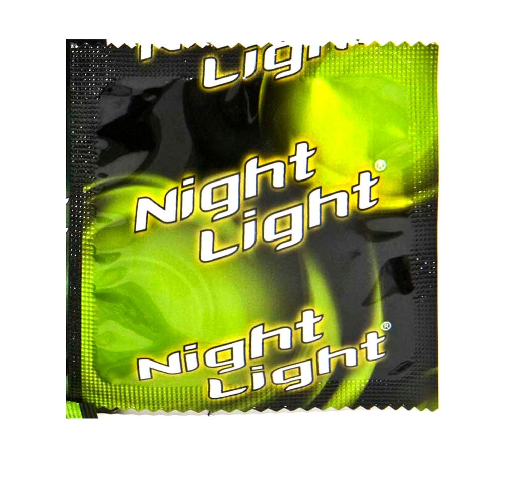 Glow in the Dark Condoms - Night Light- Low Glow by Global Protection