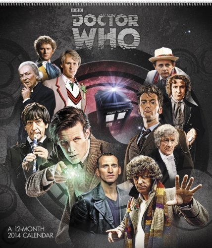 2014 Doctor Who Special Edition Wall Calendar