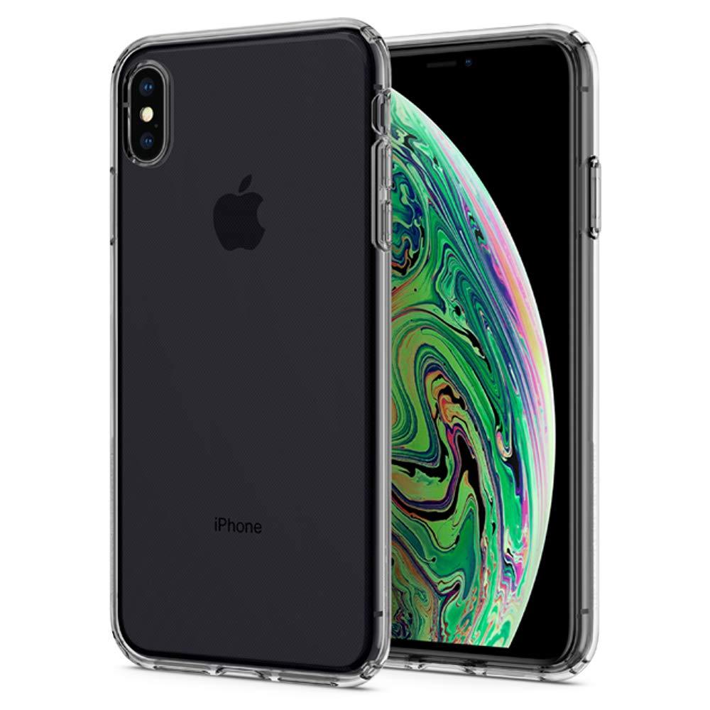 Cover iPhone XS Max Trasparente Spigen Custodia Protettiva Liquid ...