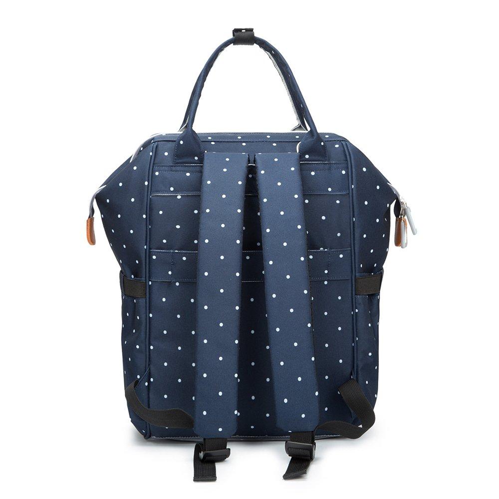 Bolsa de pañales, mochila, bolso de viaje multifunción ...
