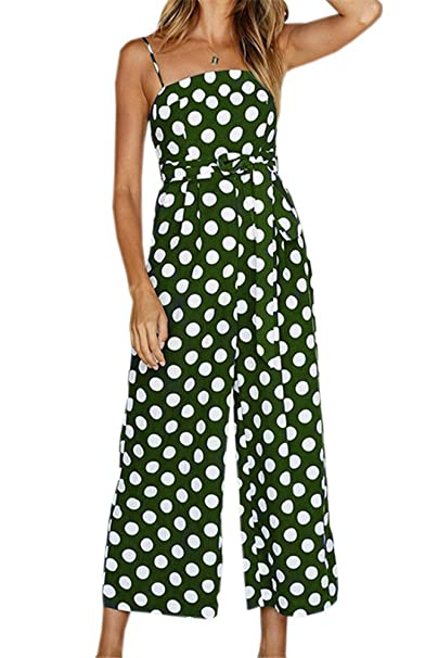 Miss Floral® Womens Striped Wide Leg Cropped Jumpsuit 5 Colour Size 6-16 Women's Clothing