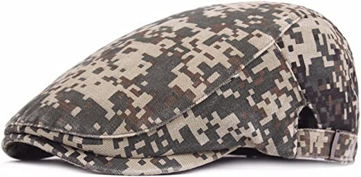 QTZS Sombrero para Hombre Camuflaje Boina algodón al Aire Libre ...