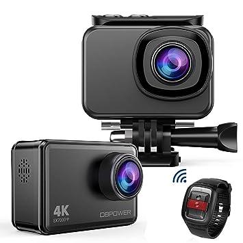 Amazon.com: DBPOWER EX7000 4 K Deportes cámara de acción, 14 ...