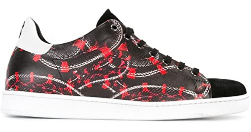 7439f0c26eadf MARCELO BURLON Sneakers Scarpe Uomo Modello CMIA0148174050171099 Nero con  Stampa (43 EU - 9 UK