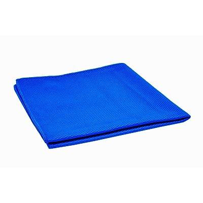 "Ultra 55 Blue Diamond Jumbo 16"" x 24"" Extreme Lint-Free Microfiber Towel - Professional 12 Pack: Automotive"