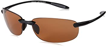 75cc103a108d SERENGETI Nuvino Polar PHD Drivers Sunglasses, Shiny Black, Medium ...