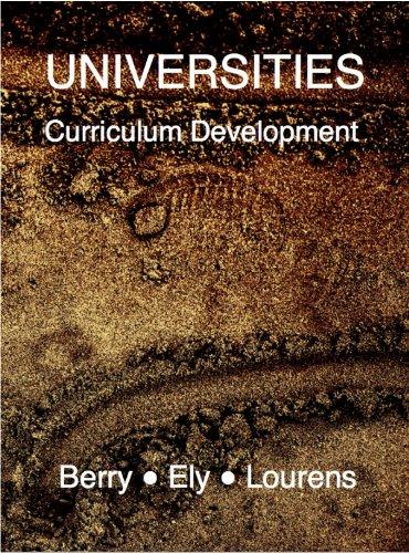 Download Universities: Curriculum Development Pdf