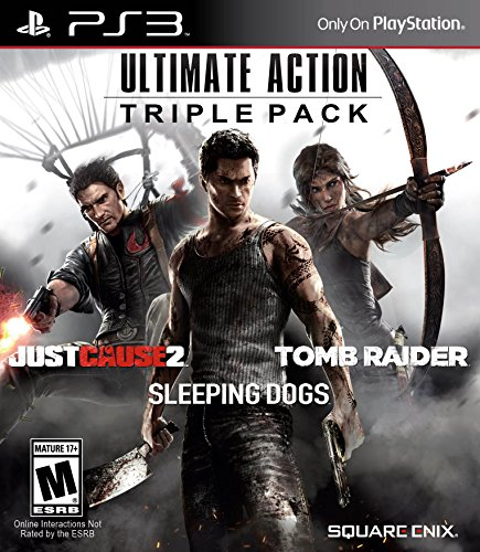 Ultimate Action Triple Pack - PlayStation 3 (Action Games Ps3)