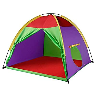 "Leedor Kids Play Tents Designed Especially Large 4-6 Kids Tent 58"" x 58"" x 47"": Toys & Games"