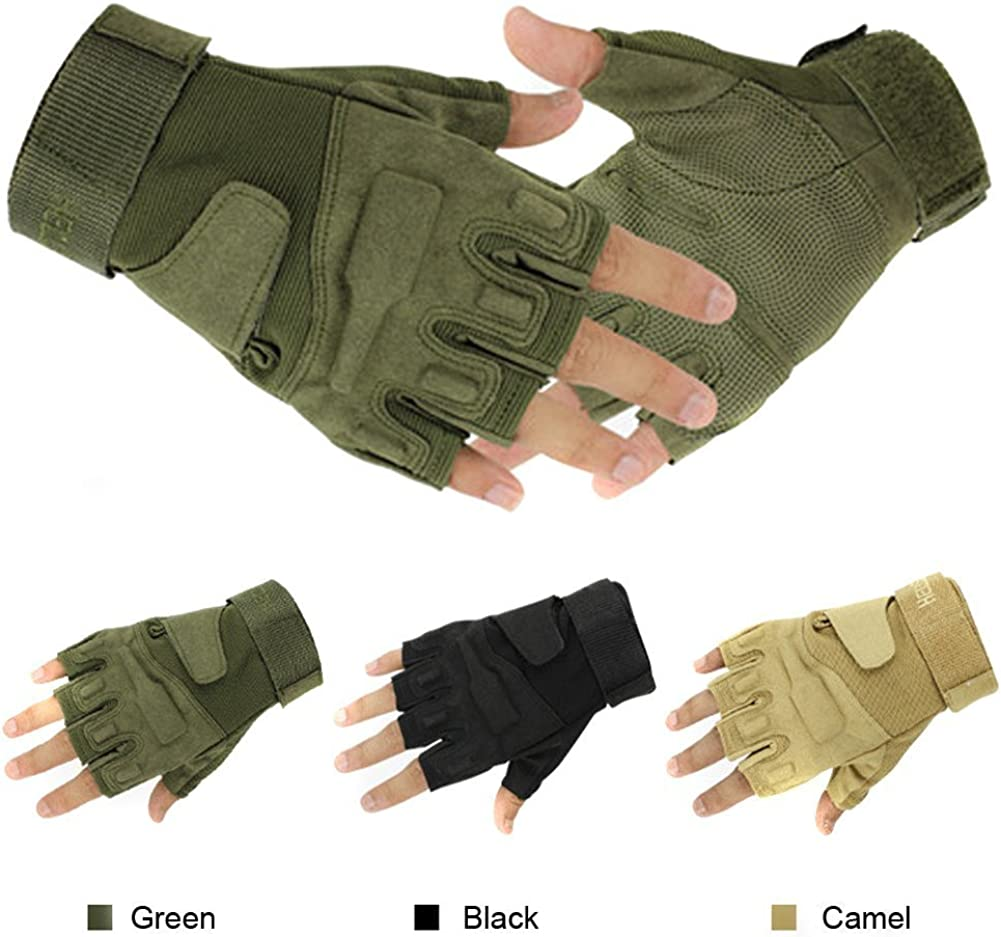 Finger-less Gloves Hunting Tactical Military Sniper Outdoor Sports Cycling