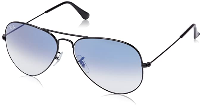 06a39cf4b82 Image Unavailable. Image not available for. Colour  Ray-Ban Aviator  Sunglasses (Black) (RB3025 002 3F