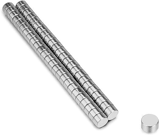 50 Stück 3 x1mm N52 Magnete Mini Runde Magnet Starke Runde Scheiben N52 Magnete