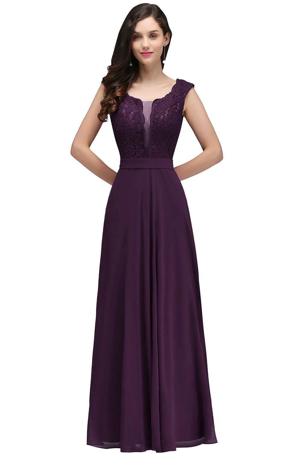Purple Bridesmaid Dresses Short Or Long All Sizes