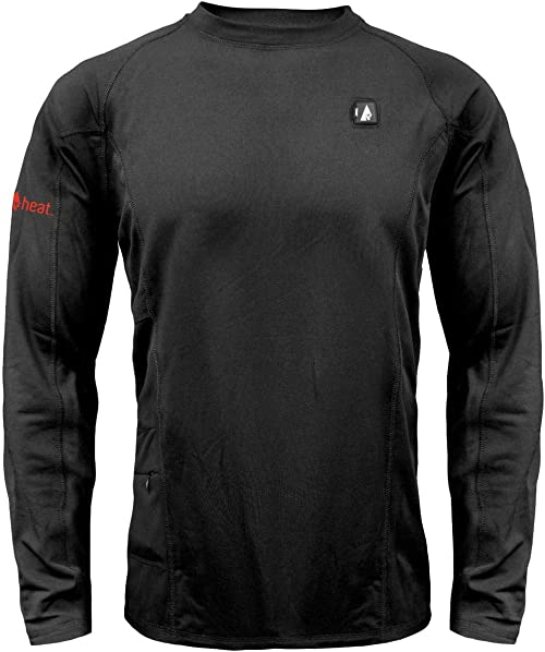 ActionHeat Base Layer Battery Operated Heated Shirt for Men