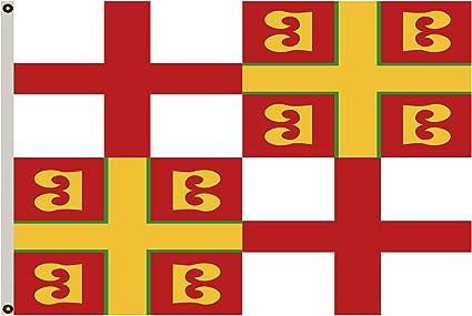 Fyon Grande Bandera Imperio bizantino Bandera 3 x 5ft: Amazon.es: Jardín