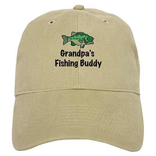 255abb6c895 CafePress - Grandpa s Fishing Buddy - Baseball Cap with Adjustable Closure