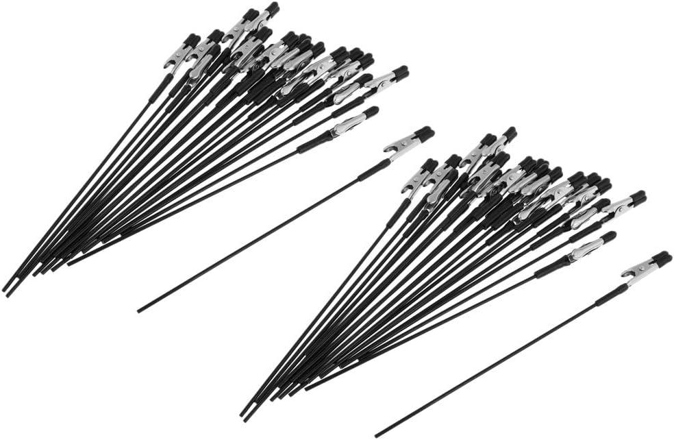 B Blesiya 40Pcs Clip Pinces Crocodile de A/érographe Jet dencre Couleur pour Bricolage Mod/élisme