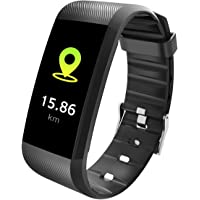 TEZER Fitness Tracker, Activity Tracker Bluetooth Smart Armband met Slaapmonitor, Hartslagmeter, Stappenteller…