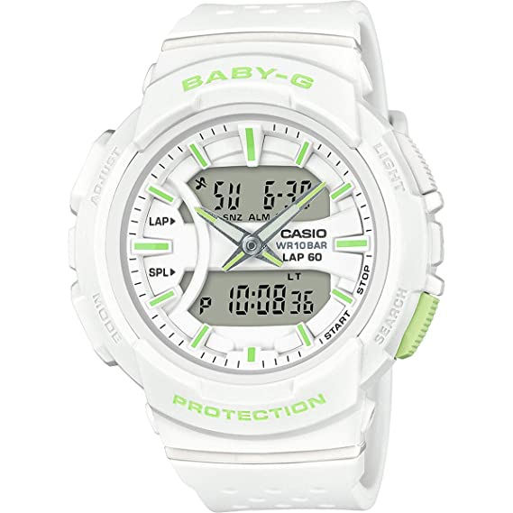 37e192ef8ca5e2 Casio BGA240-7A2 Baby G Women's Watch White 46.4mm Resin: Amazon.ca: Watches