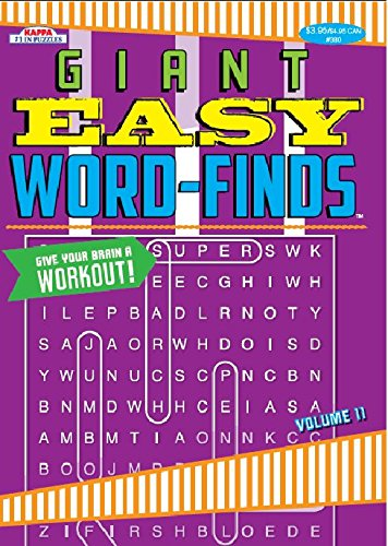 Giant Word Finds Puzzle Book Word Search product image
