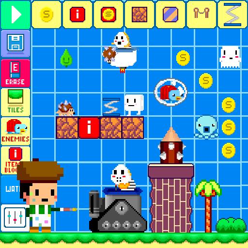 Sam's Level Maker (Mario Maker Costumes)
