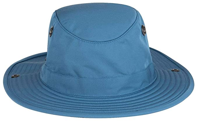 be238462 Amazon.com: Tilley Tws1 Paddlers Hat - Blue Rapids - 7 5/8: Clothing