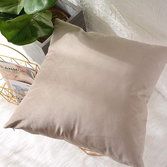 Amazon.com: MerneTTE - Juego de fundas de almohada para sofá ...