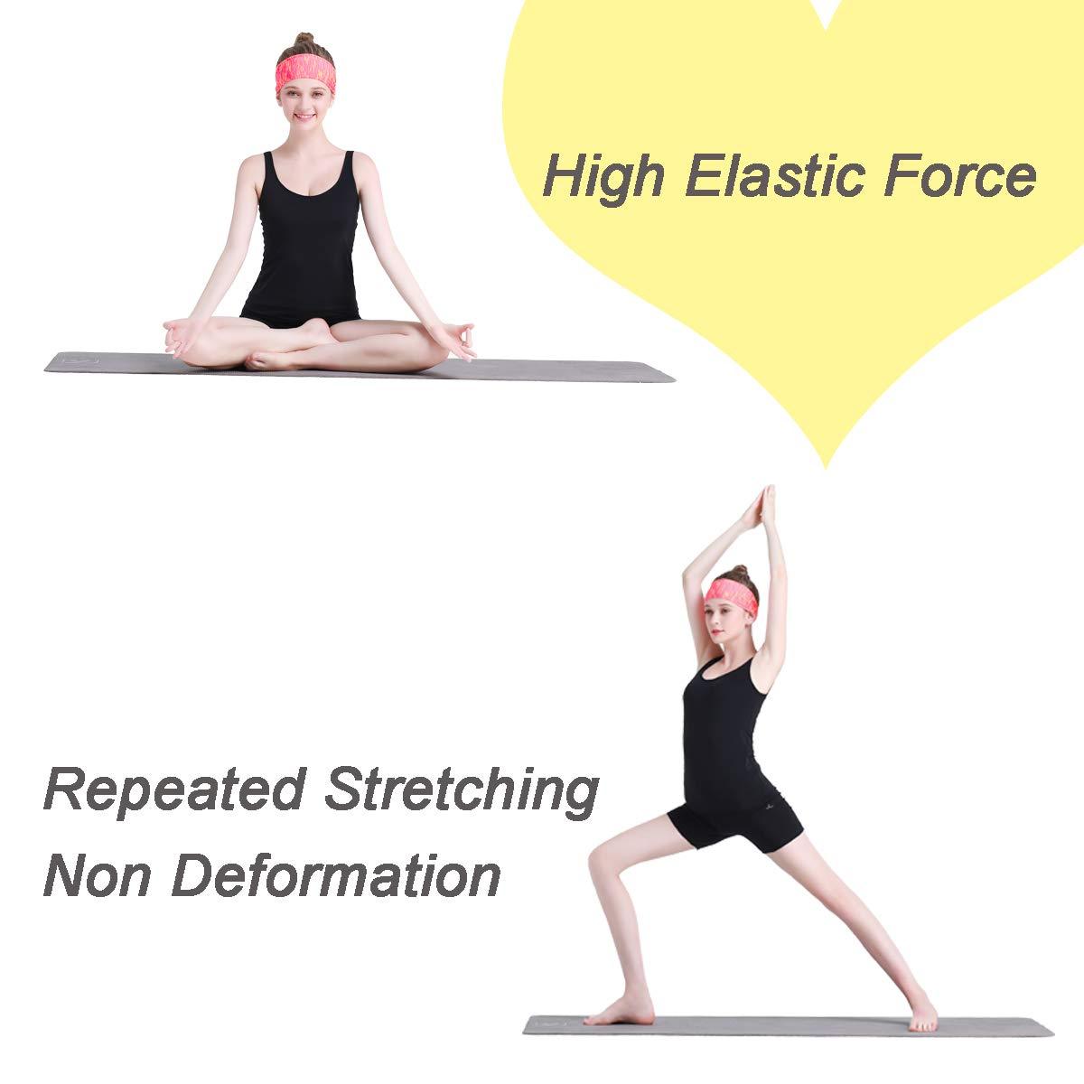 Amazon.com: blueear Deportes Diadema Elástica Sweatband Yoga ...