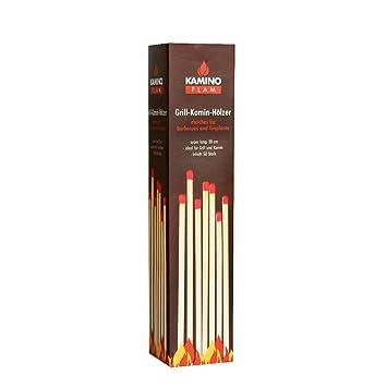 ... grill, estufa (50 piezas), Pastillas de encendido, Encendedor de madera para chimeneas, estufas, calderas y barbacoas: Amazon.es: Jardín