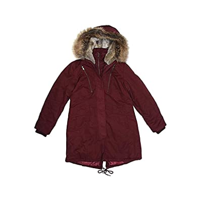 1 Madison Expedition Women's Faux Fur Hooded Parka Jacket at Amazon Women's Coats Shop