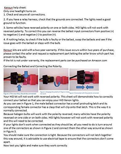 xenon hid installation instructions