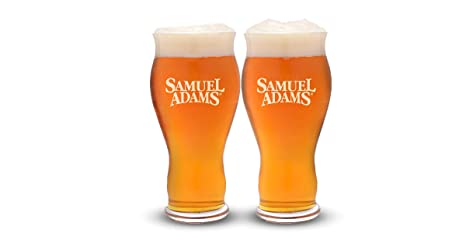 b8cbf7d3bcc46 Samuel Adams Perfect Pint Glass | Set of 2 Glasses