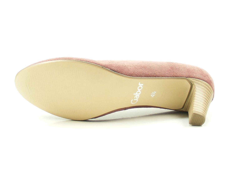 Gabor 85-200 Schuhe Damen Microvelour Pumps Weite Weite Weite F, Schuhgröße:42, Farbe:Rosa - 1242df