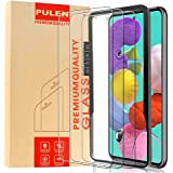 [3-Pack] PULEN Screen Protector for Samsung Galaxy A51 Tempered Glass,9H Hardness HD Clear Scratch Resistant Bubble Free…