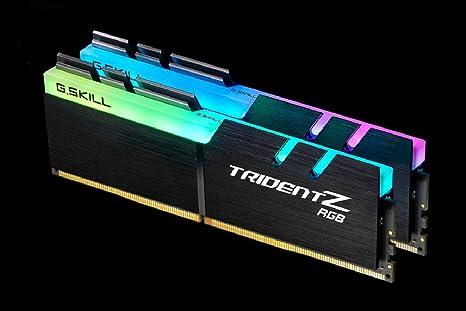 Imagen deG.Skill Trident Z RGB (For AMD) F4-3600C18D-16GTZRX módulo de - Memoria (16 GB, 2 x 8 GB, DDR4, 3600 MHz, 288-pin DIMM)