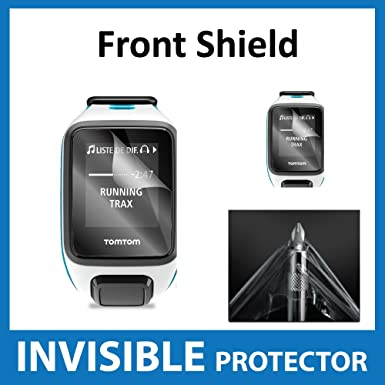 Tomtom Runner 2 Smart Watch Screen Protector Invisible Front Shield