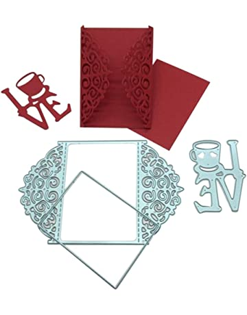 Troqueles de Corte, Culater Scrapbooking Plantillas Troquelado Kit, aplicar para Sizzix Big Shot/