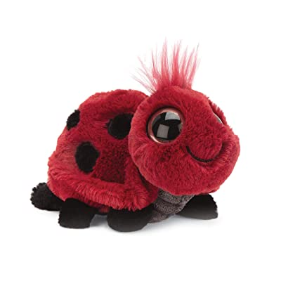 Jellycat Frizzles Ladybug Stuffed Animal, 3 inches Tall: Toys & Games