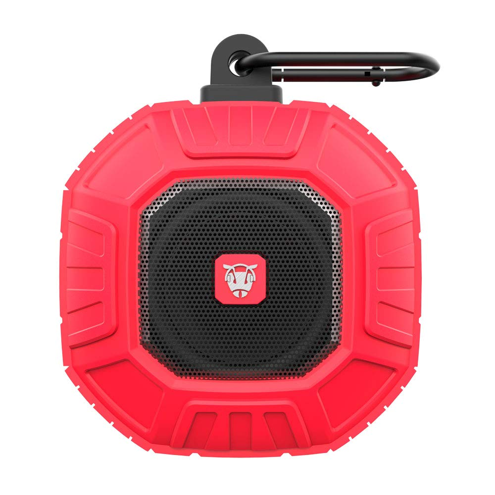 Ant Audio Ammo Portable IP66 Bluetooth Speakers (Red)