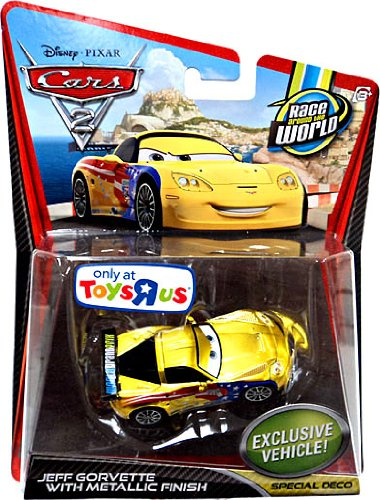 disney-pixar-cars-2-movie-exclusive-155-scale-die-cast-car-jeff-gorvette-with-metallic-finish-specia