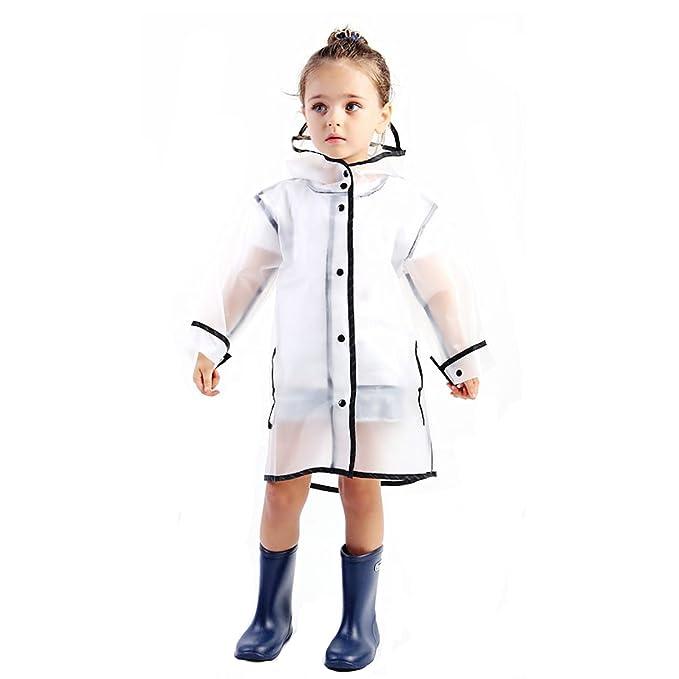 e17cc8ec4 Amazon.com  LIONVI Kids Raincoat