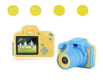 Bewinner Cámara de Video Digital para Niños HD con Zoom de 2 ...