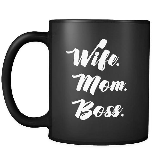 Amazon Wife Mom Boss Mug