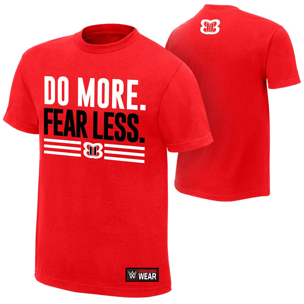 WWE Nikki Bella Do More Fear Less Authentic T-Shirt