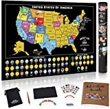 Scratch Off Map of The United States - Scratch Off