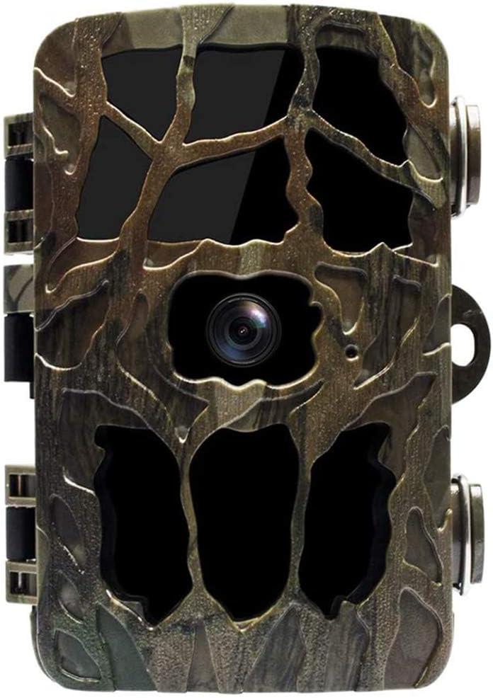Braveking1 Wildkamera 20MP 2,7K Nachtsichtspiel Jagdkamera mit 0,2s Bewegungsaktivierter 98ft//30M Abzugsentfernung IP66 wasserdichte Jagd Scouting Tier MP3 IR-Kamera mit Solarpanel und 32G SD-Karte