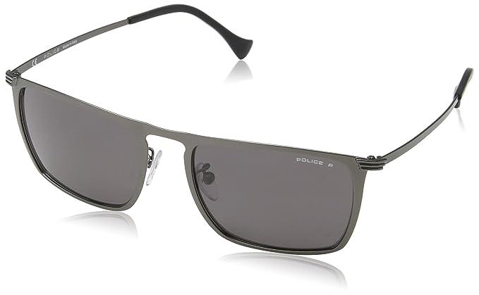 Police - Gafas de sol - para hombre Negro Semi-Matt Black ...