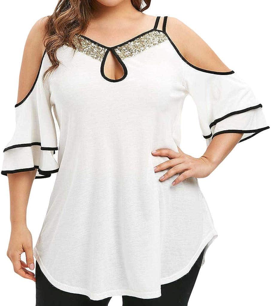 YFancy Summer Hot Fashion Girl Boy Plus Size Cute Moon Print Casual Round Neck Short Sleeve Top T-Shirt Womens Shirt